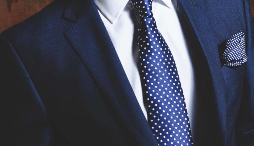 Blauer Maßanzug von Suitcon