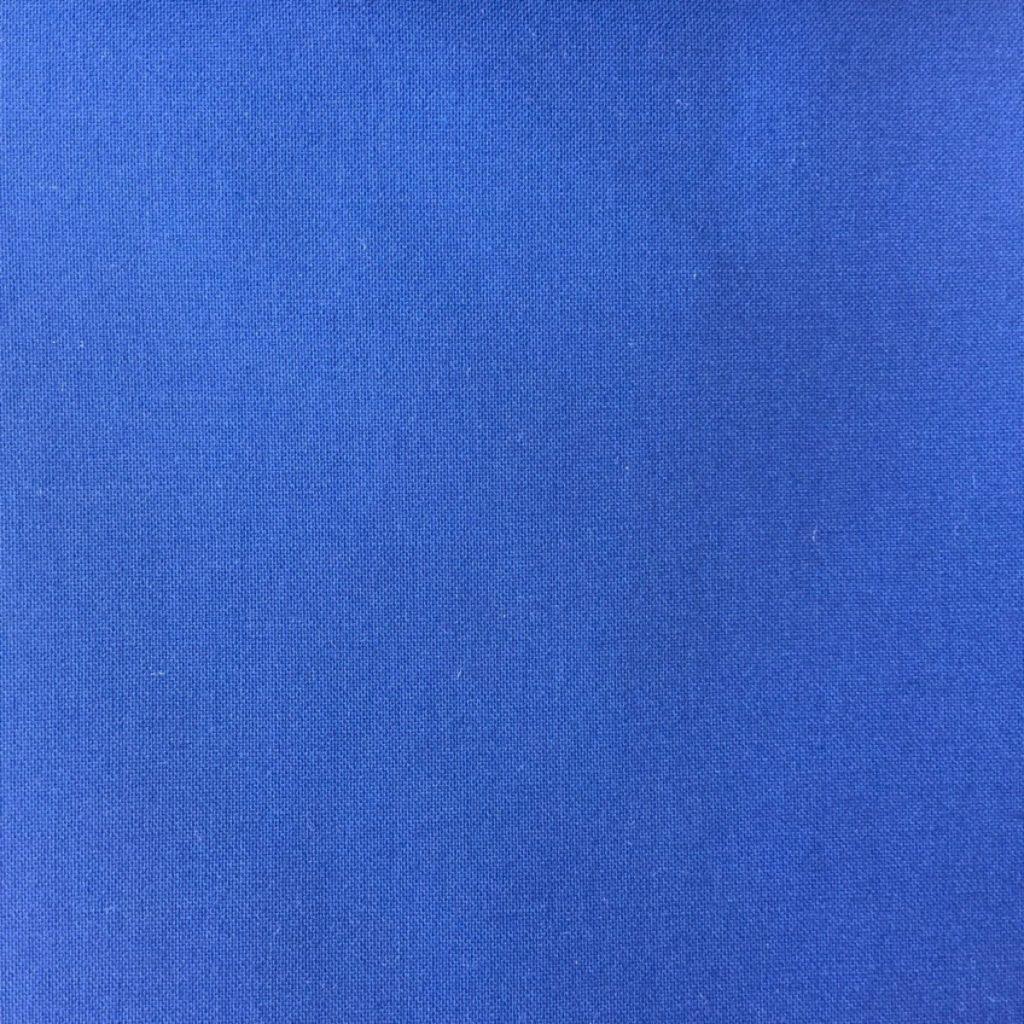 Feine und leichte Tela-di-Lana mit trockenem Griff in Indigo Blau